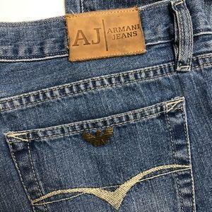 Armani Jeans Mens Straight Cut Size 34